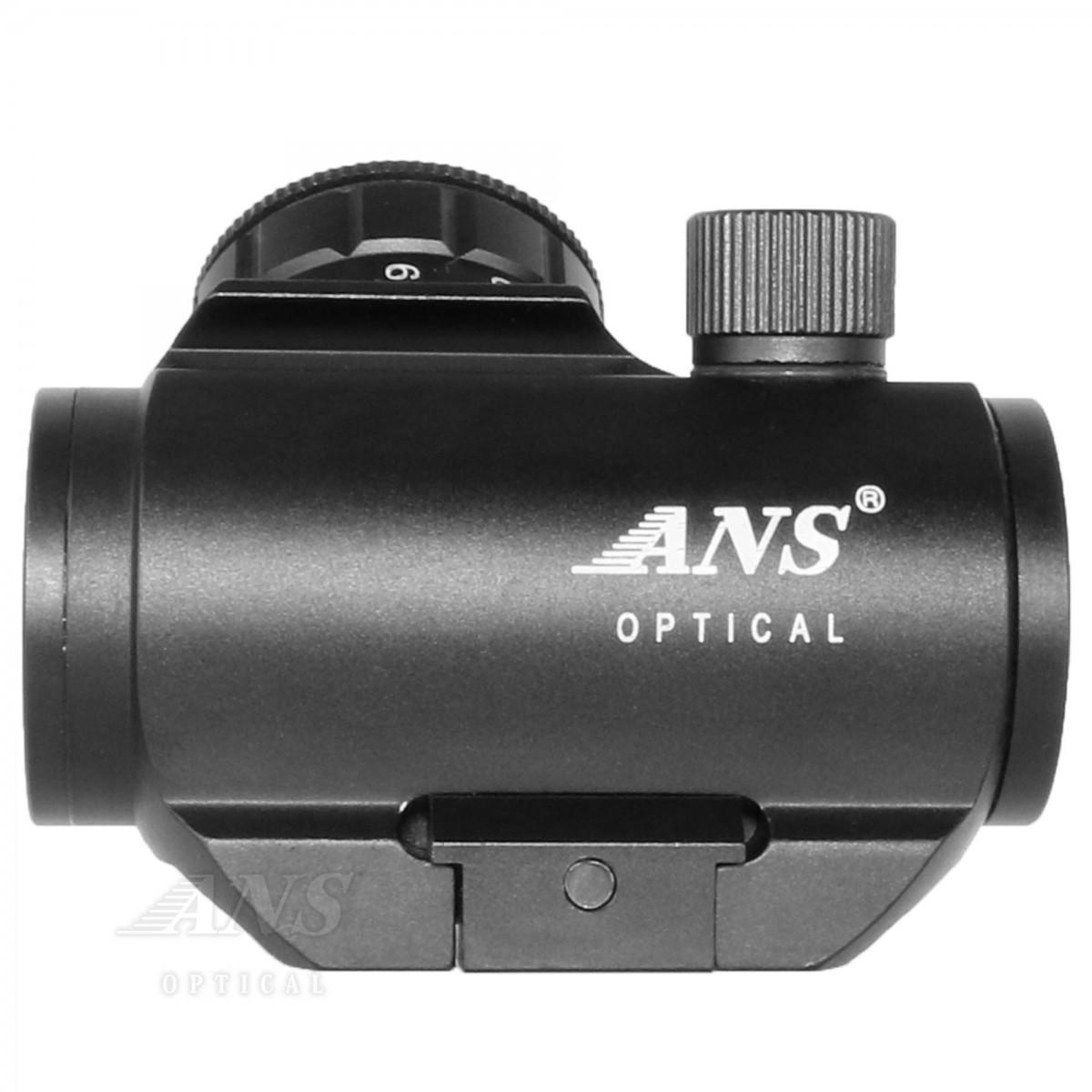 ANS optical TRS-25タイプ 1x20 ドットサイト ダットサイト 赤 緑 斜めイルミネーションダイヤル