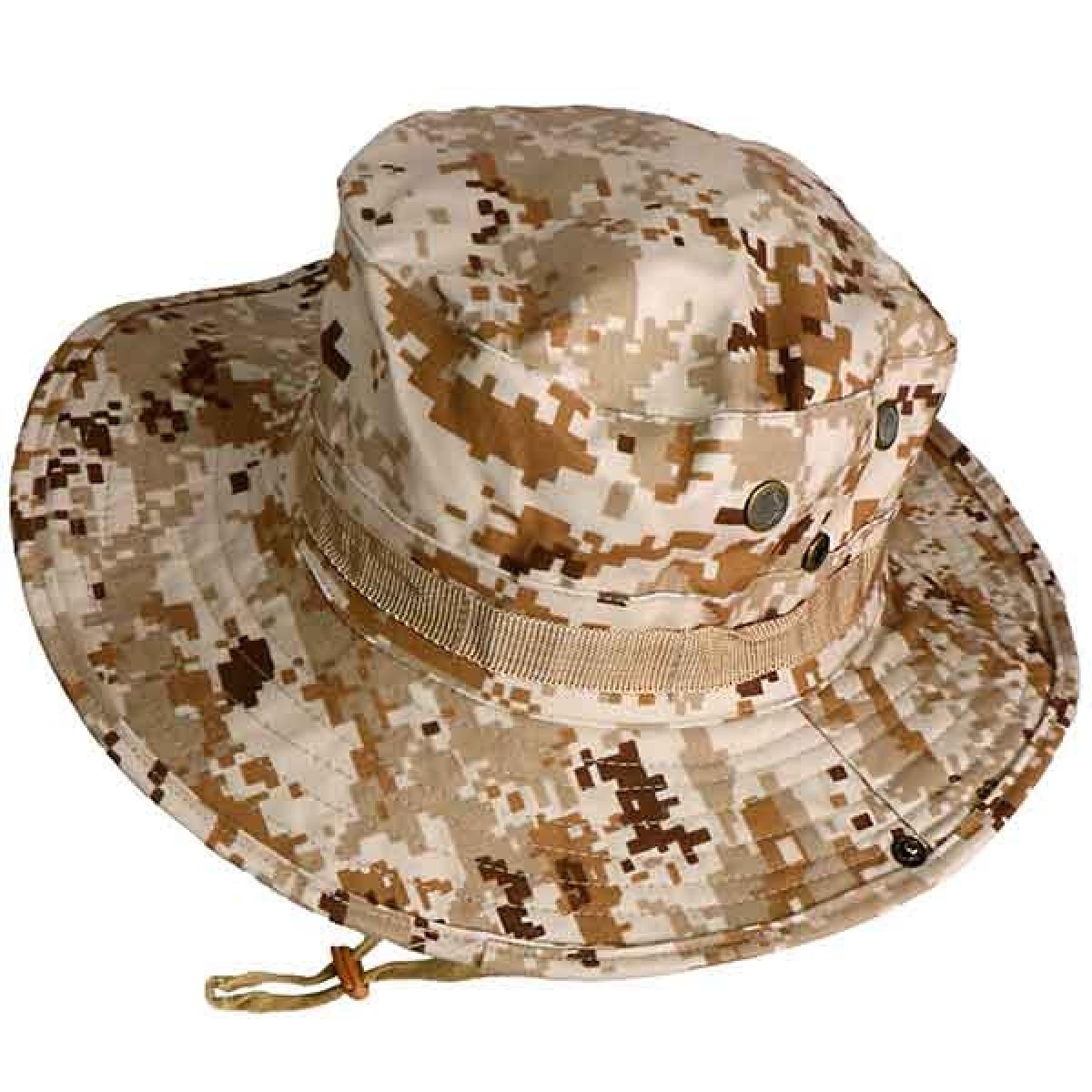 ブーニーハット ジャングルハット ピクセルブラウン フリーサイズ 帽子