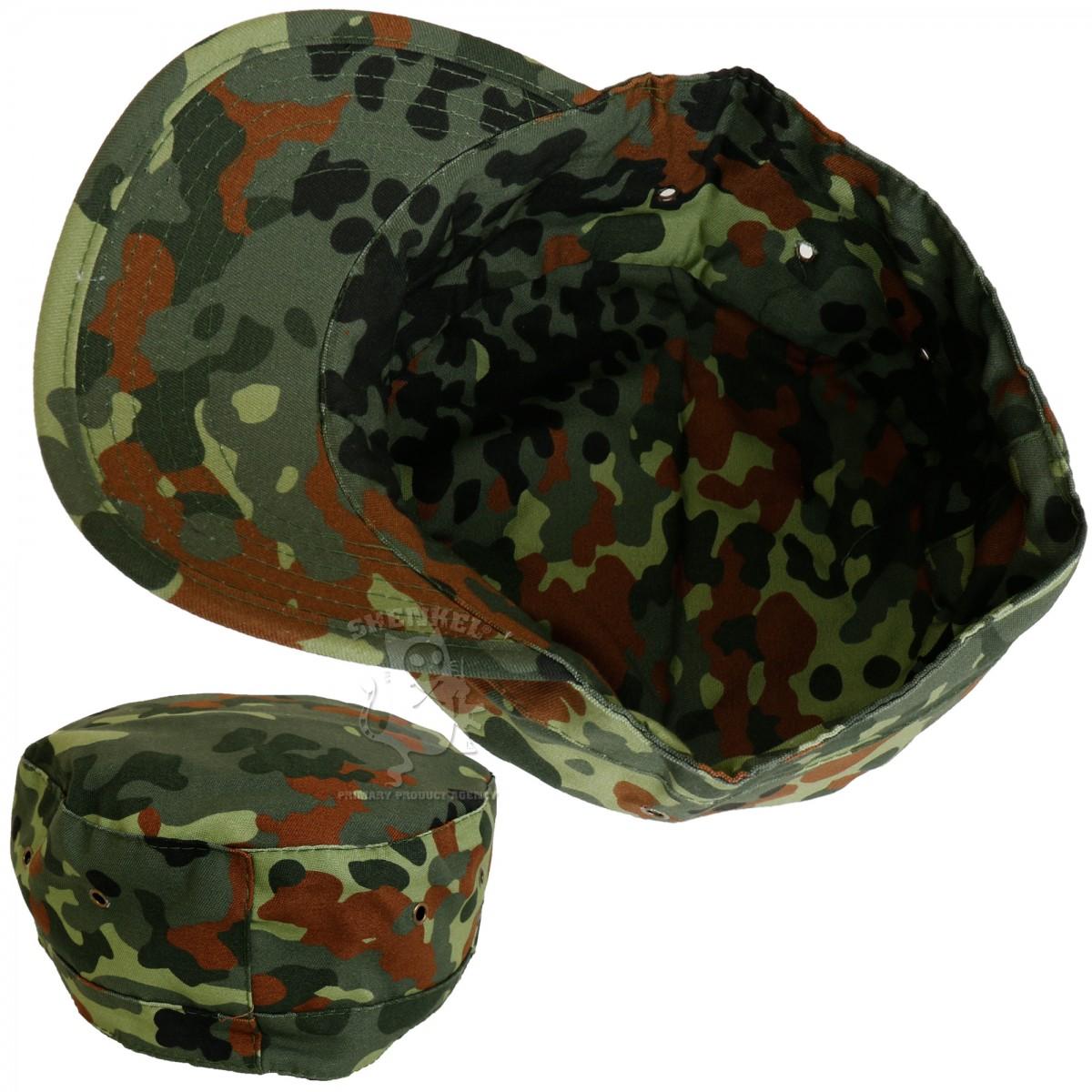 ミリタリーキャップ パトロールキャップ   フレクターカモ フリーサイズ 帽子