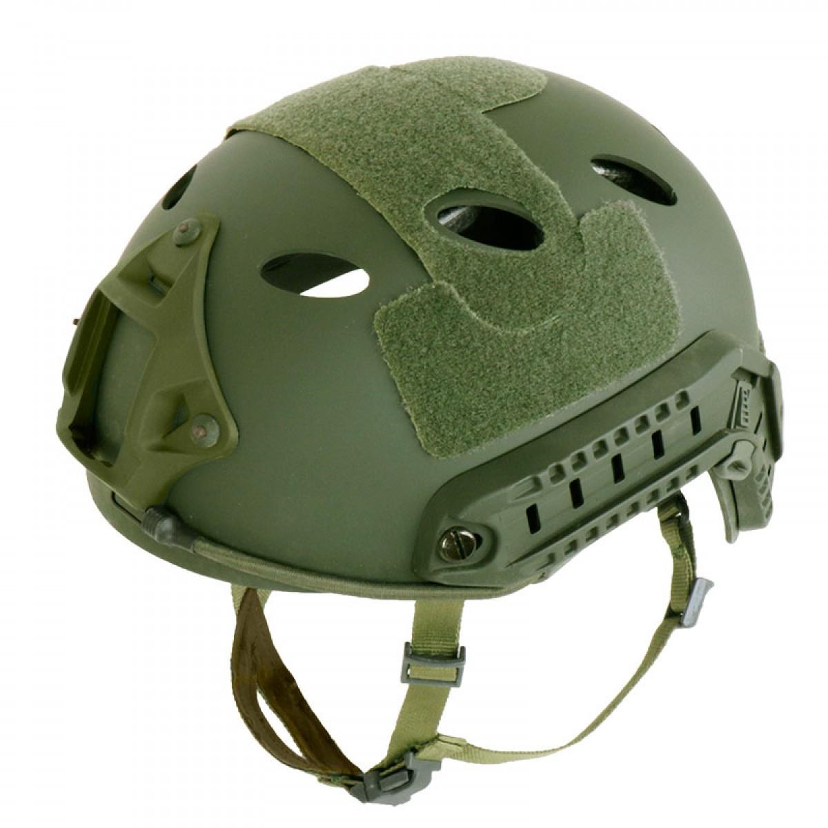 SHENKEL FAST HELMET ファストヘルメット PJタイプ 4点式あご紐ヘルメット  レプリカ 米軍装備 サバゲー BK/OD/TAN
