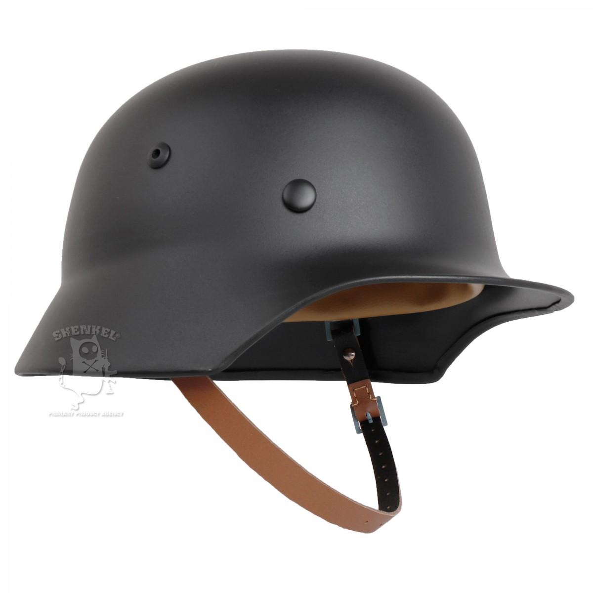 SHENKEL ドイツ軍 WW2 M-35 スチールヘルメット ブラック
