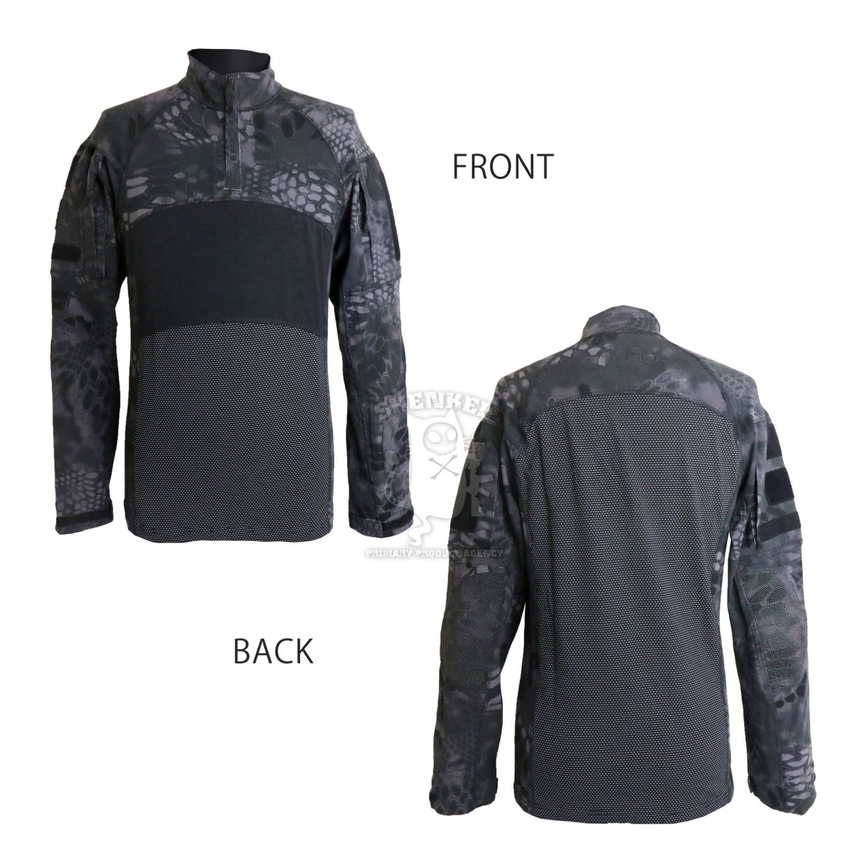 SHENKEL ACS typeIIスタイル  アーミー コンバットシャツ 長袖 ( タイフォン SMLサイズ ) メッシュ 米陸軍 通気性 乾燥性 クイックドライ
